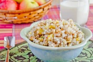 Sweet and sour Tapioca with peanuts