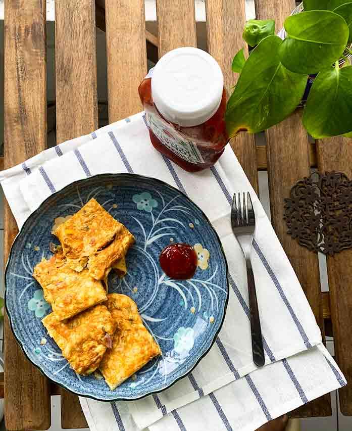Street Style Bread Omelette | स्ट्रीट स्टाइल ब्रेड