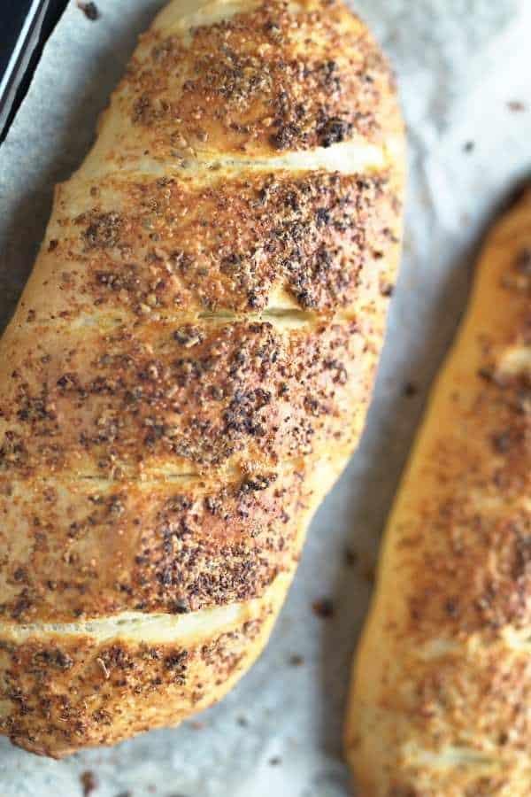 Italian Parmesan oregano bread