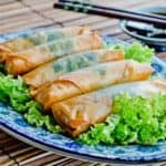 main thumb Healthy and Delicious Chinese Vegetable Spring Rolls