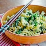 pasta main thumb Quick and healthy Pasta with spinach